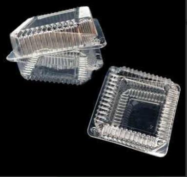 Пищевой контейнер ПР-К-15 В М, ПЕТ с высокой крышкой 1100мл 15,2х15,2х8,2см, 300шт ПЕТ