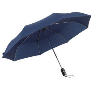 Зонт карманный автомат Express диаметр 100 см, темно-синий