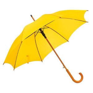 Зонт трость автомат Tango диаметр 103 см, желтый