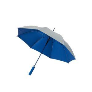 Зонт трость автомат JIVE диаметр 103 см, серебро/синий