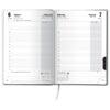 Ежедневник датированный BRUNNEN 2022 СТАНДАРТ FLEX NEO, черный с салатовым, гибкий 65494