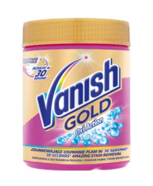 Пятновыводитель порошок для цветных тканей VANISH OXI GOLD 470г