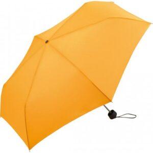 Зонт мини неавтомат FARE AluMini-Lite диаметр 90 см, светло-оранжевый