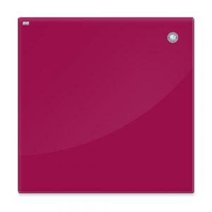 Доска магнитная стеклянная для маркера, красный цвет