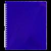 Тетрадь на пружине COBALT В5, 96 листов с пластиковой обложкой, синий