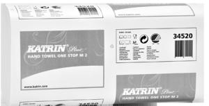 Полотенца-вкладыши KATRIN-34520, 235х250мм, 2-х слойное, 144шт, белые