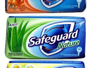 Мыло туалетное SAFEGUARD, 90г,  в ассортименте