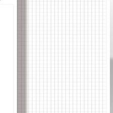 Бумага для флипчарта 10 лист, 83х58см, в клетку, 70г/м