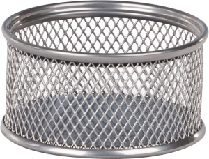 Подставка для скрепок, металлическая сетка, круглая