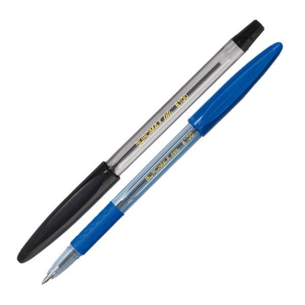 Ручка шариковая с резиновым грипом