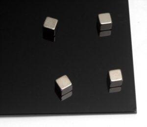 Усиленные магниты для стеклянных досок, 6шт, в форме куба