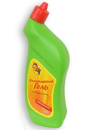 Санитарный гель БДЖІЛКА с хлором, 750г