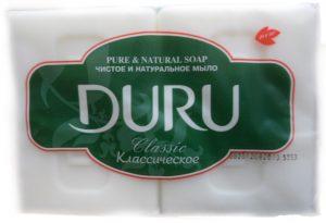 Мыло DURU хозяйственное белое 2шт*115г