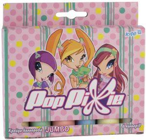 Мел цветной JUMBO 6шт. Pop Pixie PP13-073K