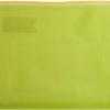 Папка-конверт на молнии А4 желтая с расширяющимся дном