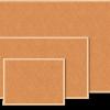 Доска пробковая информационная ТМ Buromax, в деревянной рамке