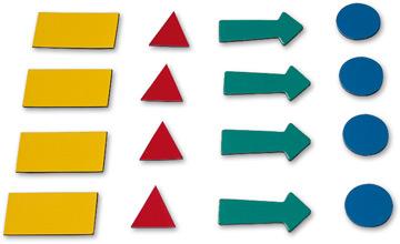 Магнитные символы для планера 4 листа (307 знаков)