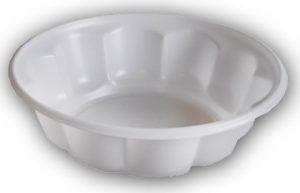 Креманка пластиковая d-11см, 100шт, белая