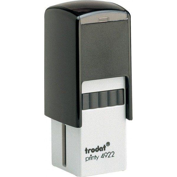 Оснастка для штампа или печати 20х20мм TRODAT, черный корпус