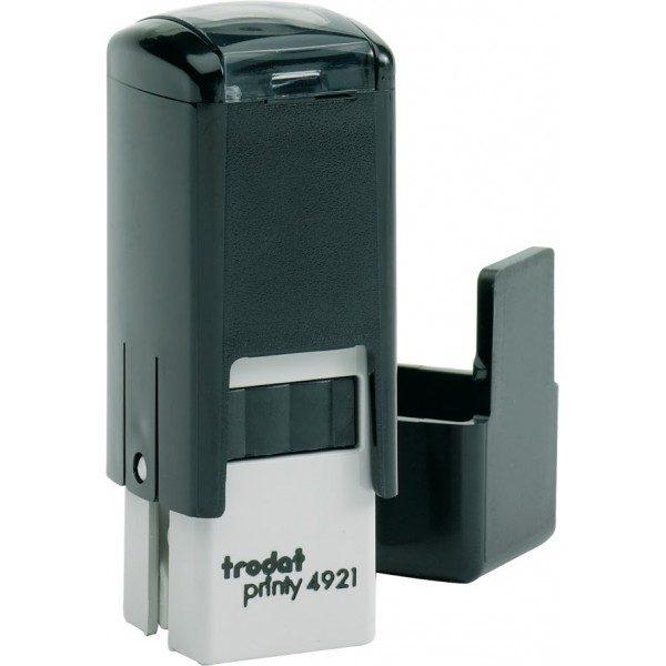 Оснастка для штампа или печати 12х12мм TRODAT с колпачком, черный корпус