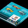 Блокнот детский Airplane в твердой обложке с окошком для фото