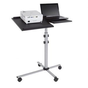 Стол для проектора DUO, 30×45/45×45см, с двумя независимыми полками