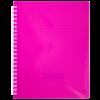 Тетрадь на пружине FUCHSIA В5, 96 листов, пласт. обложка, с разделителем