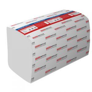 Полотенца PRO 33700110, 23,5х24см, 2-х слойн, 160шт, белые