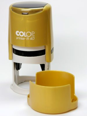 Оснастка для круглой печати D-40мм ТМ Colop металлик