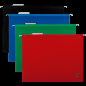 Файл подвесной пластиковый А4 с индексом