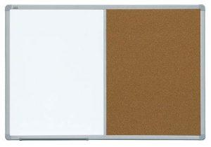 Доска комбинированная маркер/пробка в рамке ALU23