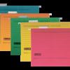 Файл подвесной картонный А4 с индексом