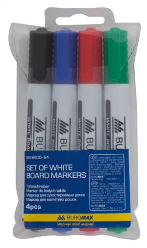 Набор маркеров для магнитных досок