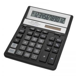 Бухгалтерский калькулятор Citizen SDC-888XBK, 12 разрядов
