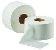 Туалетная бумага Марго d-19см, 2-х слойная, белая, 100м