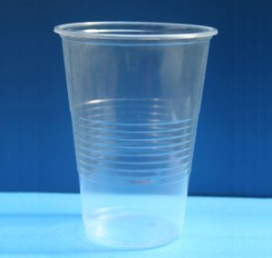 Стакан пластиковый Економ, 500мл, 50шт, прозрачный