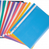 Папка пластиковая А4 с прозрачным верхом, глянцевая