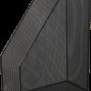 Лоток вертикальный, 355х245х80мм, металлический, черный и серебряный
