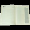 Ежедневник А5 датированный 2018 SAGA черный, золотой торец 13445