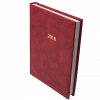 Ежедневник А5 датированный 2021 BASE красный 14296