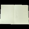 Ежедневник А5 датированный 2018 SAGA черный, золотой торец 13456