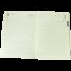 Ежедневник А5 датированный 2018 SAGA черный, золотой торец 13448