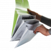 Папка-конверт А4, на 4 отделения,  на липучке TRAVEL 13200