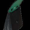Портфель пластиковый А4+, 3 отделения, двухцветный 13221