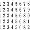Нумератор автоматический 6 разрядов, 4,5мм, металл 13013