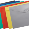 Папка-конверт на кнопке А4, непрозрачная