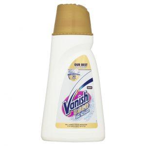 Пятновыводитель жидкий для белых тканей VANISH Gold Oxi Action 940мл