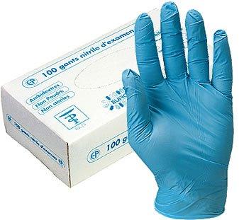 Перчатки нитриловые PRO-1100, 100шт, размер L