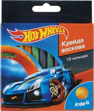 Мелки восковые, 12 цветов Hot Wheels HW15-070K