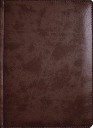 Обложка ВАЛЬТЕР бордово-коричневый